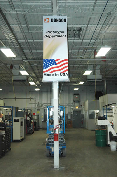 Donson was selected as one of the Top Shops in the United States in 2016 by Modern Machine Shop magazine.